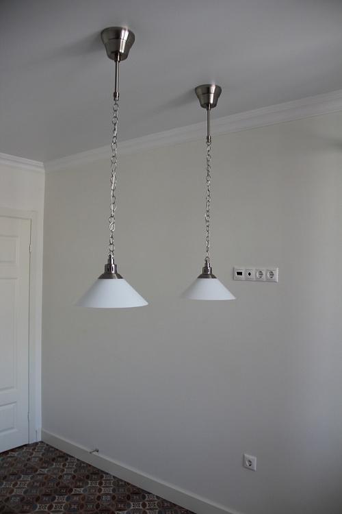 Ремонт комнаты в светлых тонах.